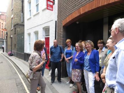 Elaine Wein Spitalfields Walk (1)