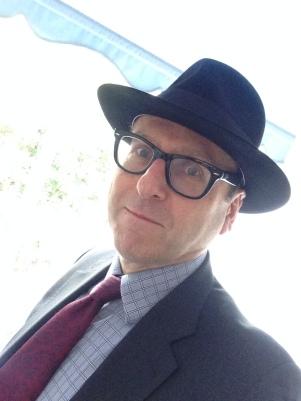 Anthony Davis with hat