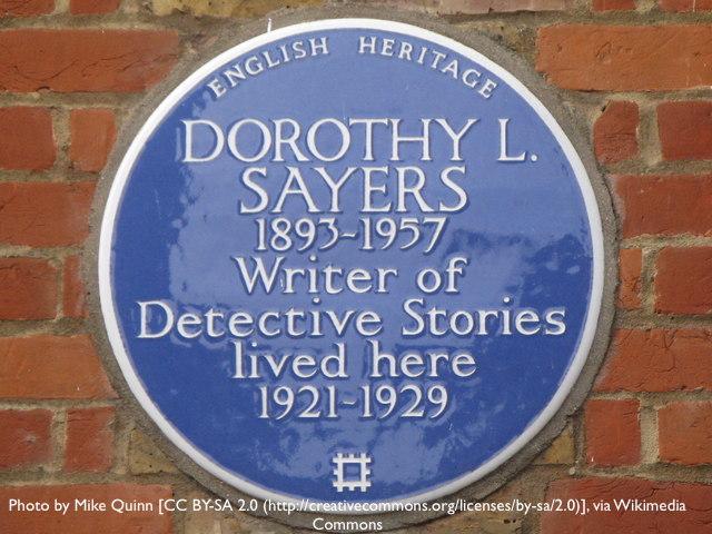 Sue McCarthy DL Sayers Bloomsbury